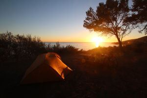 Day 121 – Super sunny, Last big hills  and a magic sunset to finish. Circle of Awesomeness
